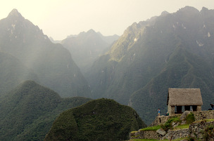 Guard House at Machu Picchu