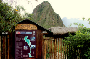 Entrance to Huayna Picchu