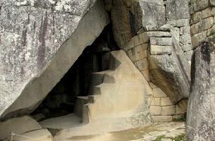 Royal Tomb at Machu Picchu
