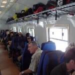 Backpacker train, peru rail