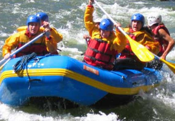 White Water Rafting in Peru