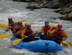 Rafting day trips in Cusco