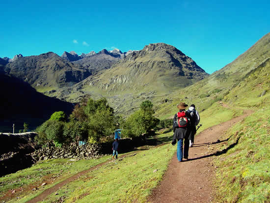 Condor Pass on the Lares Trek