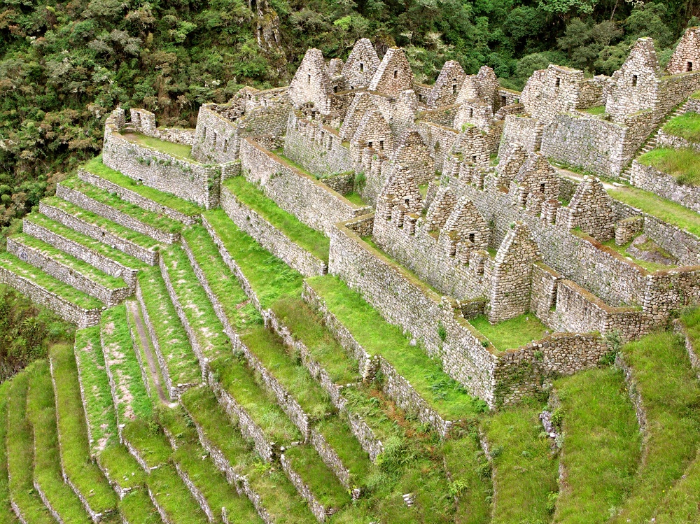 Winay Winya Citadel (near the 3rd Campsite of the Inca Trail)