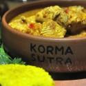 Peruvian Indian fusion cuisine at Korma Sutra Curry House in Cusco, Peru