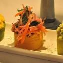 Traditional Starter at El Albergue de Ollantaytambo restaurant