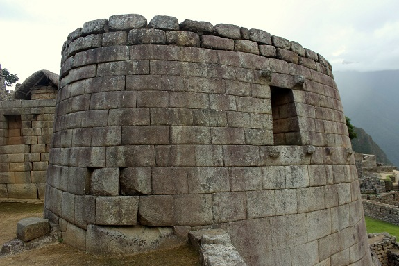 Inca Temple of the Sun - Machu Picchu
