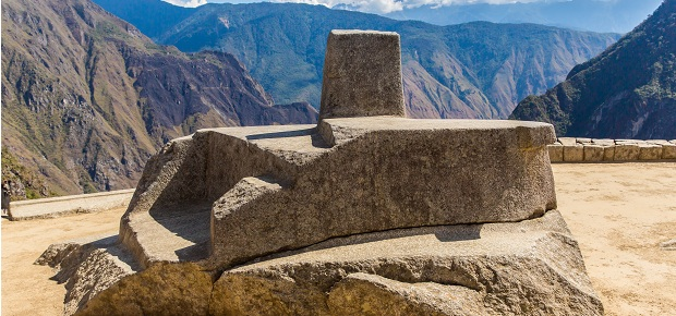 Granite Stone Machu Picchu : Intihuatana the only peru guide