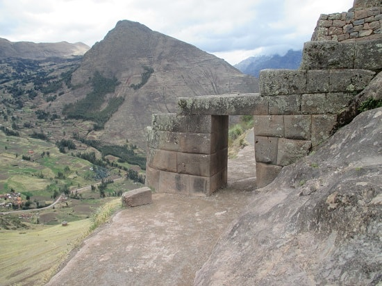 Inca Doorway, Marking the Entrance to the Temple Complex