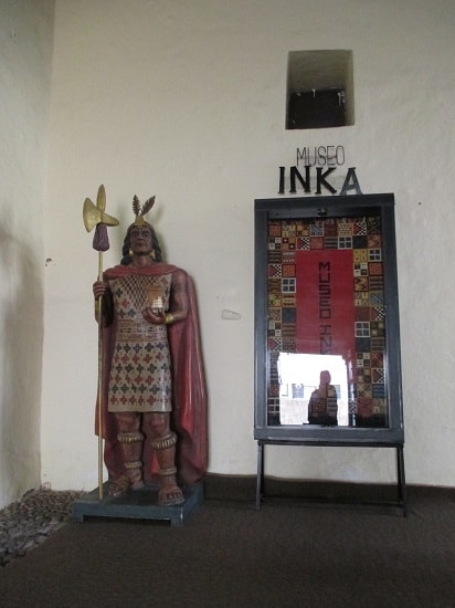 Entrance to the Inca Museum