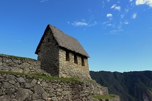 The Caretakers Hut at Machu Picchu