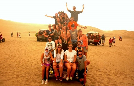 Dune Buggying in Huacachina