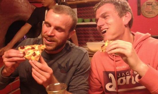Tasty pizzas at  El Tabuco