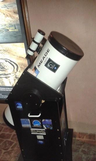 Telescope in Planetarium