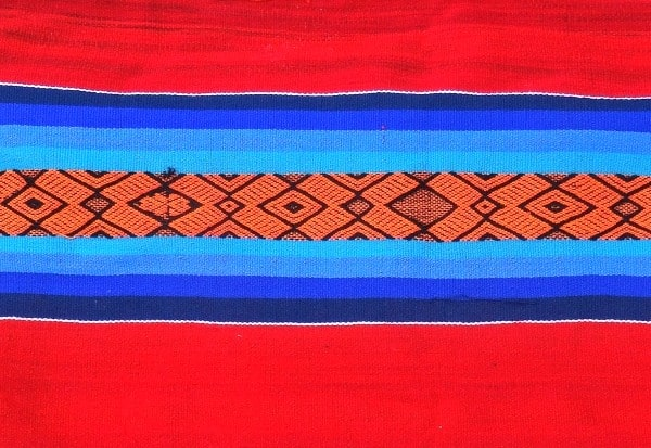Traditional textiles abound all week long at Pisac's winderful market