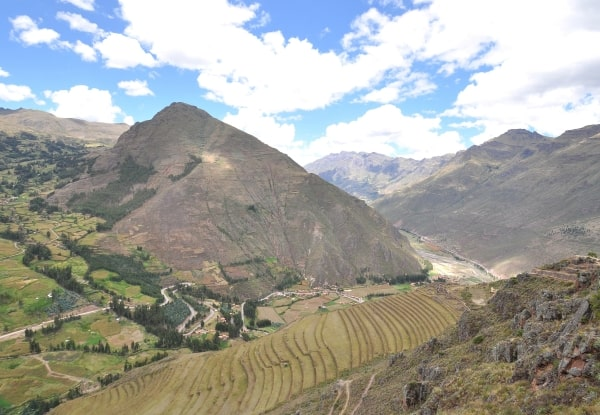 On top of the world: Fine views from the Inca ruins at Pisac