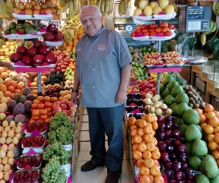Don Ortiz- Market Display of Fresh Produce