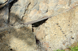 Inca Draw Bridge Machu Picchu