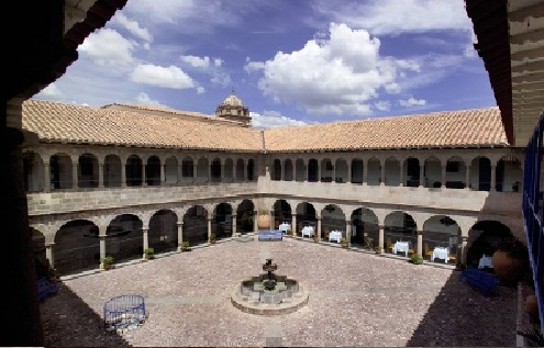 Libertador Hotel Cusco Courtyard The