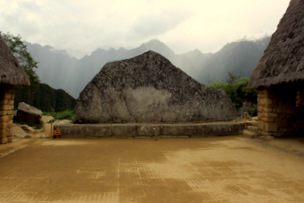 Sacred Rock Machu Picchu