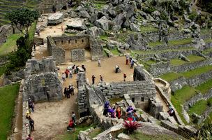 Sacred Plaza Machu Picchu