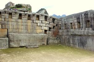 Main Inca Temple Machu Picchu
