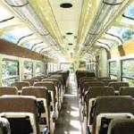 Vistadome Train, Inside