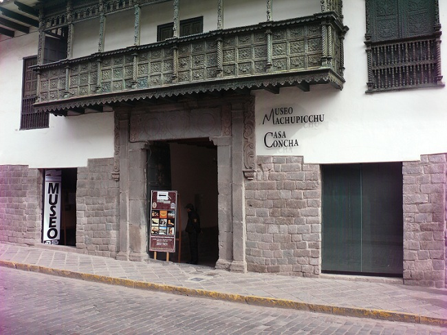 Entrance to La Casa Concha Museum, Cusco
