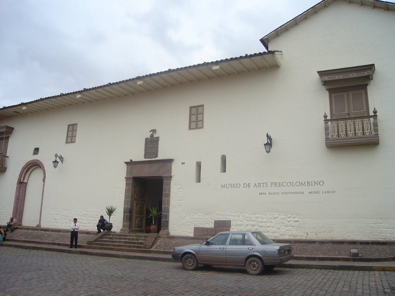 Front of Map Museum in Cusco