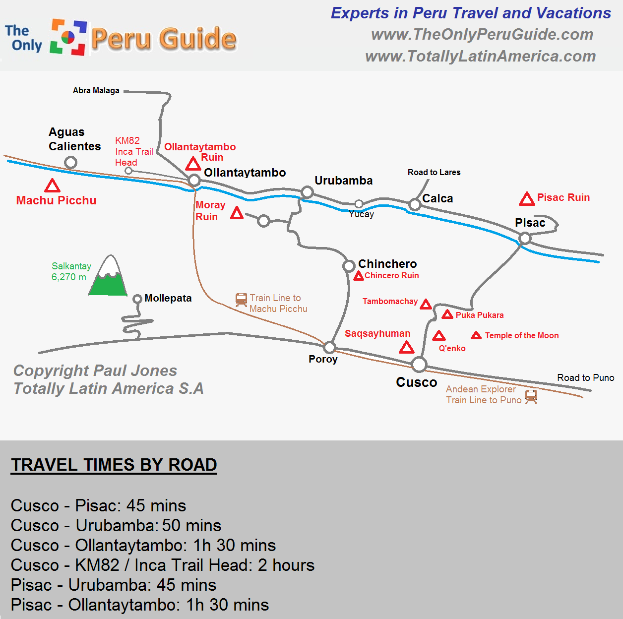 Sacred Valley Peru Map Sacred Valley Map   The Only Peru Guide