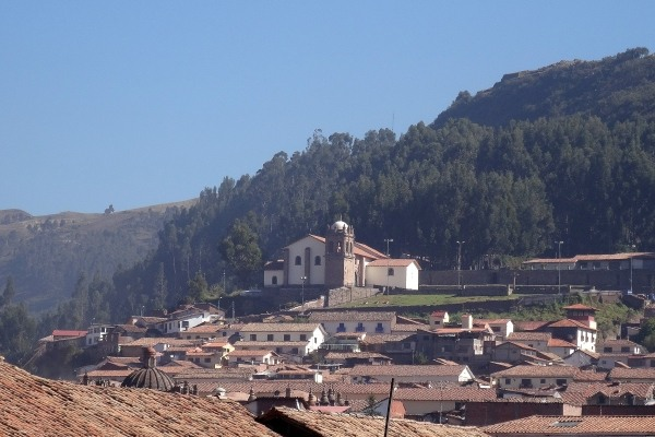 San Cristobal Church in Cusco Peru, one of four attractions on the Cusco Religious ticket