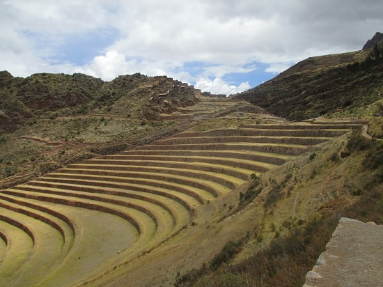 Agricultural Terraces at the Top of Pisac Ruins