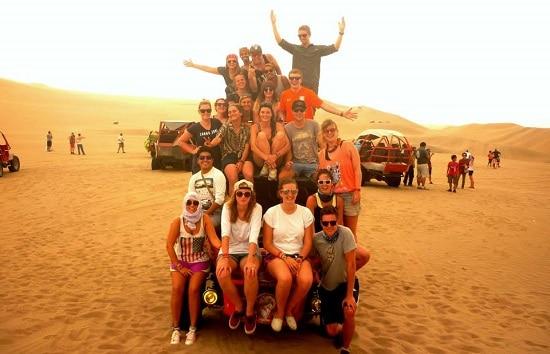 Dune Buggying in Huacachina