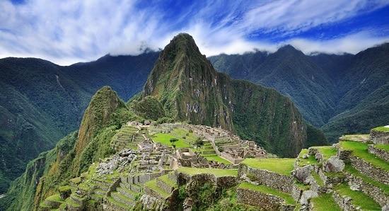 Machu Picchu Inca Citadel Peru