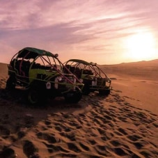 Escape From Lima - Paracas/Huacachina