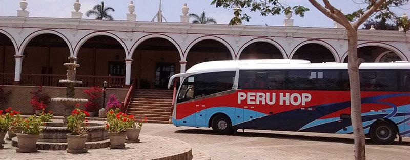 Peru travel tips - Peru Hop bus