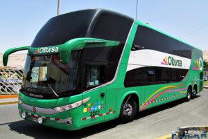 Best Peruvian Bus Companies - Oltursa Bus