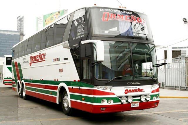 Best peruvian bus companies - ormeno bus
