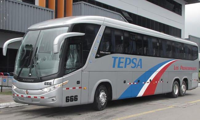 Best peruvian bus companies - tepsa bus