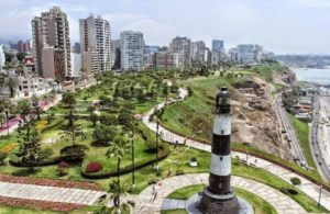 miraflores boardwalk near lighthouse - where to stay in lima