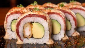 Restaurants In Miraflores - maki sushi ready to eat at Edo Sushi Bar