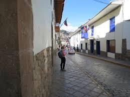 Recoleta street in Cusco - best hostels cusco