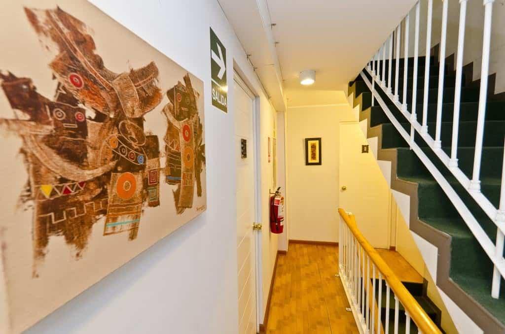 miraflores wasi's hallway