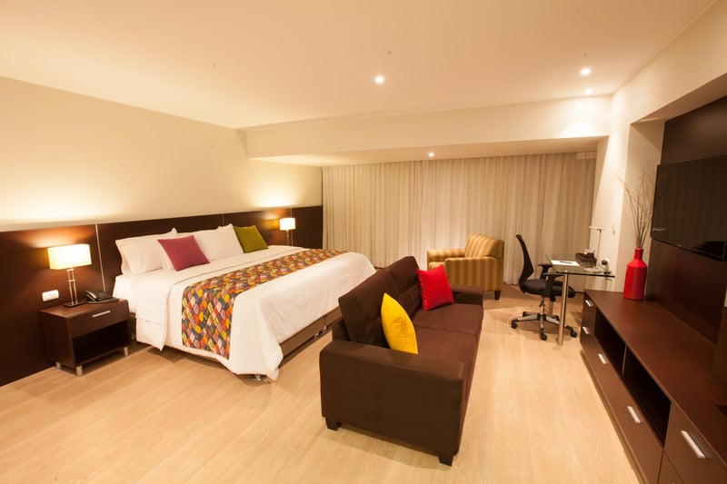 Lima hotels - 2w apartments room interior