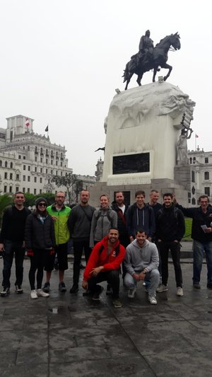 Lima Free Walking Tour San Martin Square