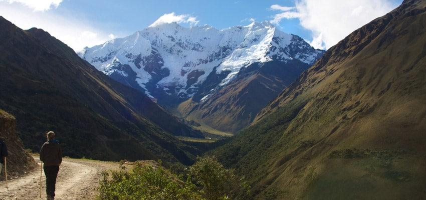salkantay trek scenery