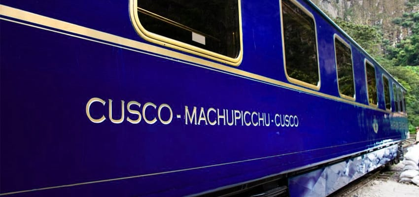 train to machu picchu from cusco