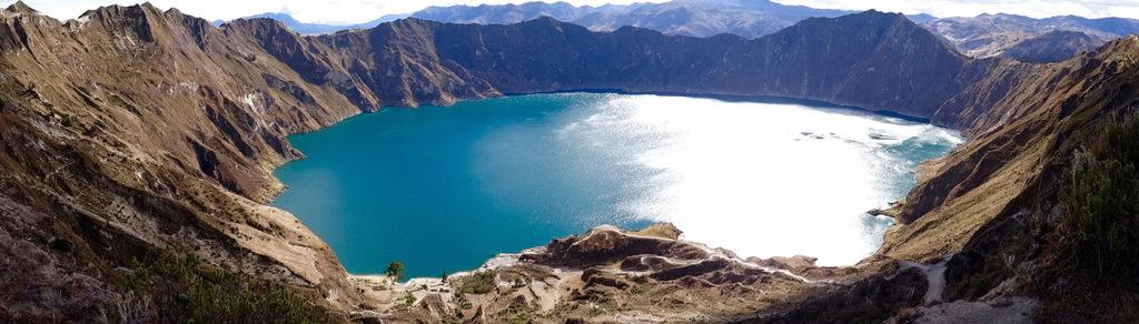 Lake Quilotoa Ecuador