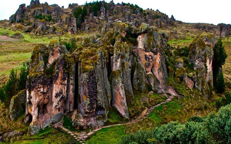 The amazing shot of Cumbemayo in Cajamarca.