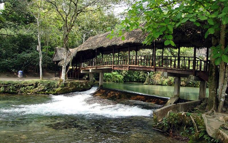 Northern Peru Itinerary Tioyacu Natural Pools in Moyobamba